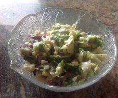 Käse-Lauch Salat