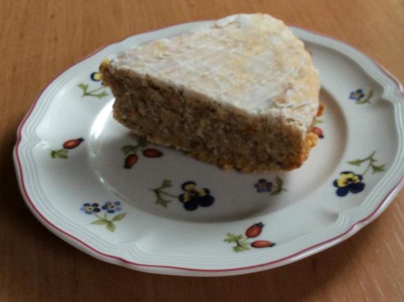 Karottenkuchen Mit Xucker 1 2 Rezept Fur Kleine Backform Von