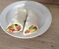 Low carb Mozzarella Wrap