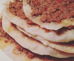 Bestes Lahmacun - türkische Pizza