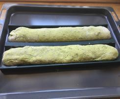 Bärlauch-Emmer-Dinkel-Baguettes