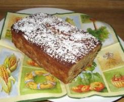 Apfelkastenkuchen mit Sultaninen (laktosefrei)