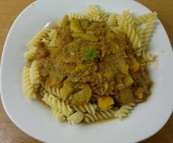Spaghetti Bolognese mit Fenchel! WW!