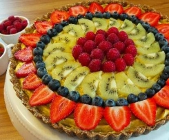 Erdbeer-Mango-Rohkosttorten Ohne Backen Vegan