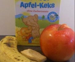 Apfel Bananen Keks Brei