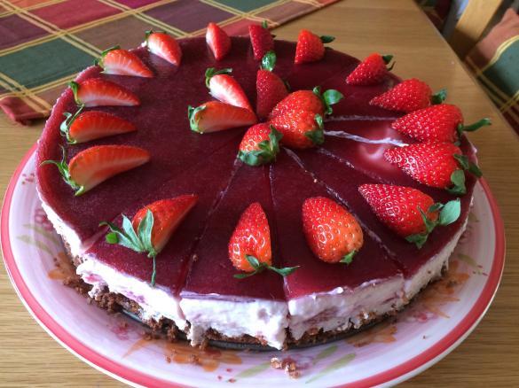 Erdbeer Quark Torte Von Musigudi62 Ein Thermomix Rezept Aus Der