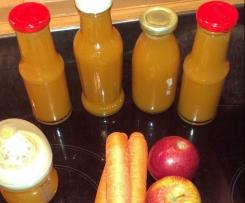 Baby Möhren-Apfel Saft