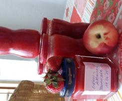 Erdbeer-Nektarinen Marmelade