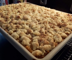 Apfelkuchen vom großen Ofenzauberer- schnell und saftig