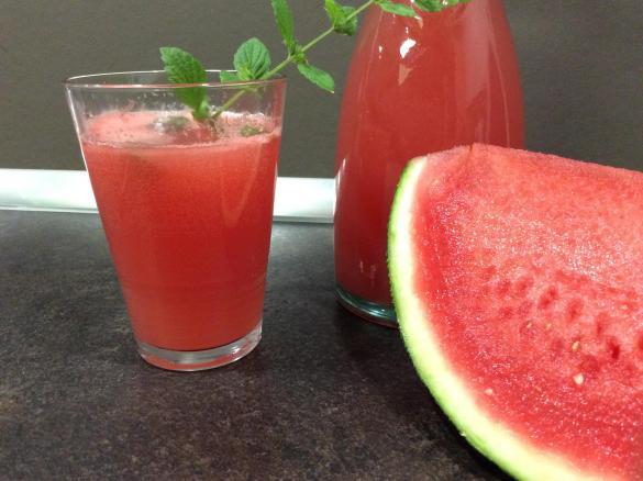 Watermelonade - Wassermelonenlimonade von Partyfisch auf ...