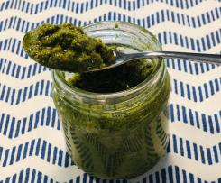 Pesto mit Pistazien (Laktosefrei)