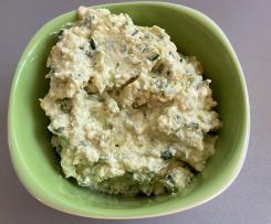 Feta-Frischkäse-Dip (leicht scharf)
