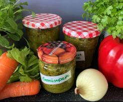 Gemüsepaste ohne Kochen