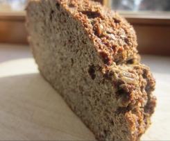 Brot mit Leinsamenmehl - glutenfrei - low carb