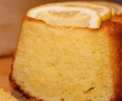 Zitronenkuchen super luftig