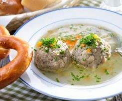 Leberknödel Suppeneinlage