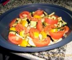 Tofu-Ratatouille            vegetarisch