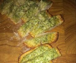 Carlo's Knoblauch-Käse-Brot