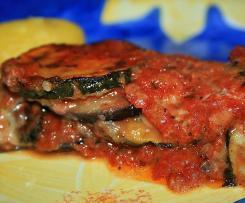 Variation Zuccini  oder Auberginen Lasagne/ Auflauf sehr lecker