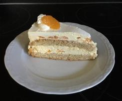 Erfrischende Mandarinen-Torte