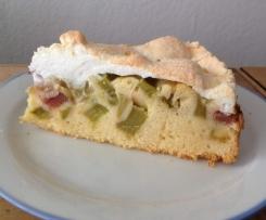 Rhabarber-Baiser-Kuchen - ohne Abziehen