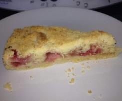 Der einfachste Erdbeer-Streuselkuchen