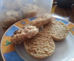 Brötchen (glutenfrei) in Muffinform