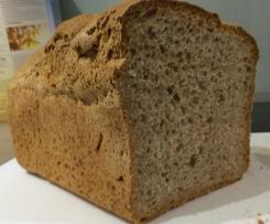 Dinkel-Weizenbrot mit Sauerteig & Vollkorn