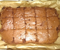 Weihnachtliche Brownies