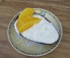 Avocado-Orangen-Creme