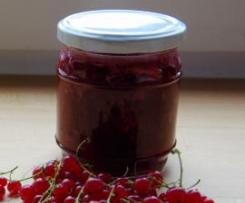 Rote Johannisbeer Marmelade