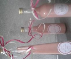 Erdbeer- Vanille-Likör