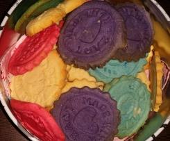 Teig für Keks-Stempel