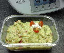 Avocado Aufstrich / Guacamole super schnell und super lecker