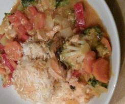 Thailändisches Fisch Curry