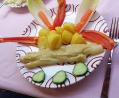 Vegane Sauce für Spargel, anderes Gemüse und Aufläufe