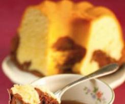 Marmorkuchen für 28 cm Rohrboden