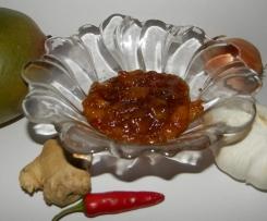 Originales Mango Chutney , Suess Scharf