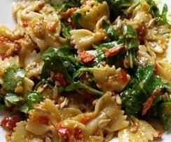 Vegetarischer Nudelsalat Italia