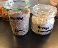 Porridge auf Vorrat im Glas!