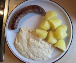 Wirsing, Kartoffeln und Bratwurst (wie bei Oma)