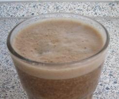 Kaffee Mel, Bananen-Eiskaffee, vegan, schnell und lecker