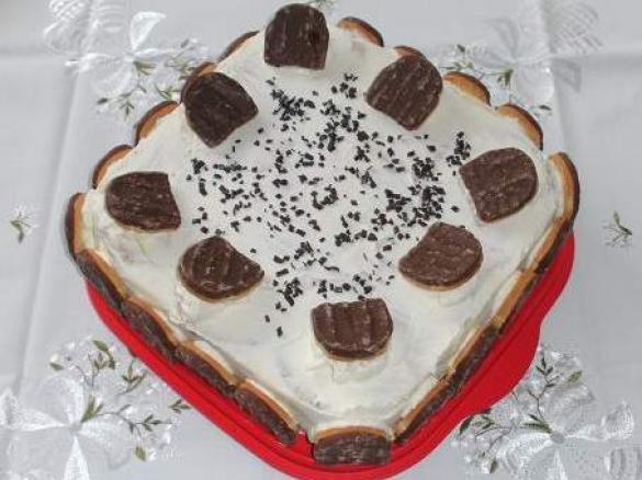 zwieback kuchen mit rhabarber pudding aus dem k hlschrank von sauerampferst ngelchen ein. Black Bedroom Furniture Sets. Home Design Ideas