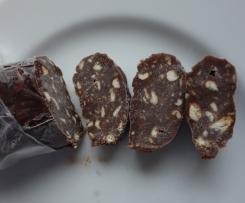 Variation Russische Schoko-Wurst: Сладкая колбаска