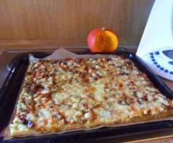 Vegetarische Kartoffelpizza