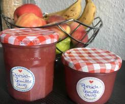 Pfirsich-Vanille Marmelade