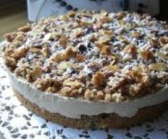 Eiskaffee-Sahne-Torte