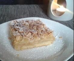 Vollwert Apfel Kuchen florentiner Art  Vegan