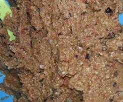 Auberginen Brotaufstrich, Dip, vegetarisch, vegan