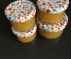 Ananas-Mandarinen-Marmelade mit Rum
